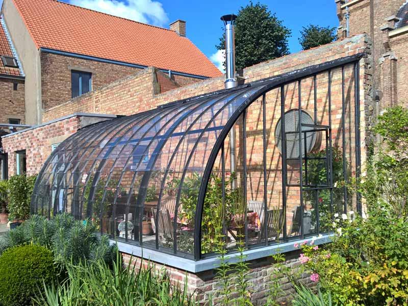 Serre de jardin adoss e dbg classics - Serre de jardin adossee au mur ...