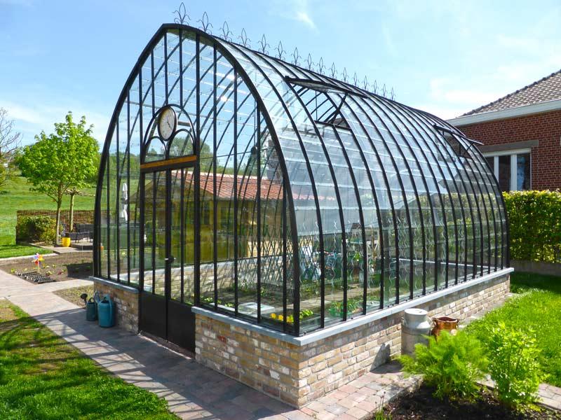 Serre de jardin victorienne dbg classics - Fabriquer une petite serre de jardin ...