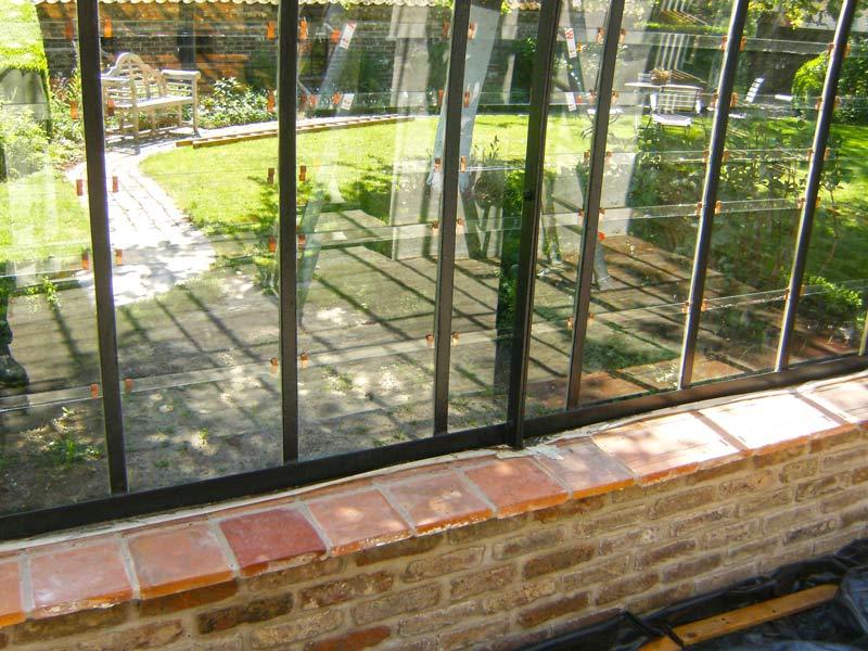 glazen serre aanbouw serreglas voorbeeld constructie | DBG Classics