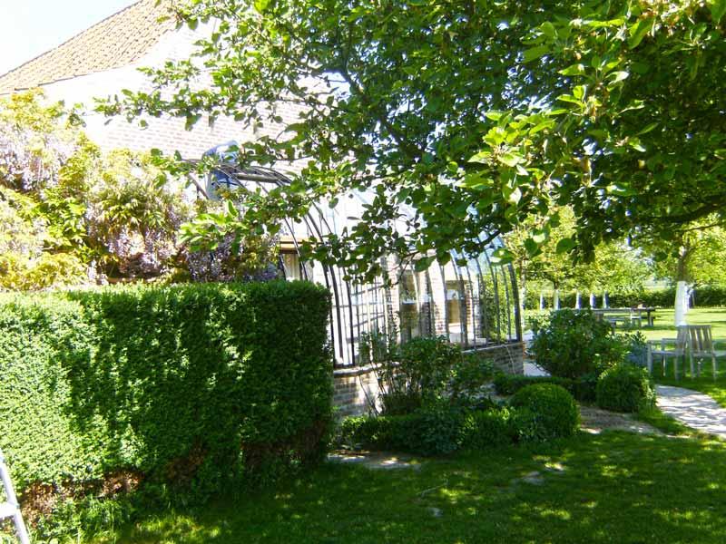 glazen serre aanbouw tuin aanbouw DBG Classics