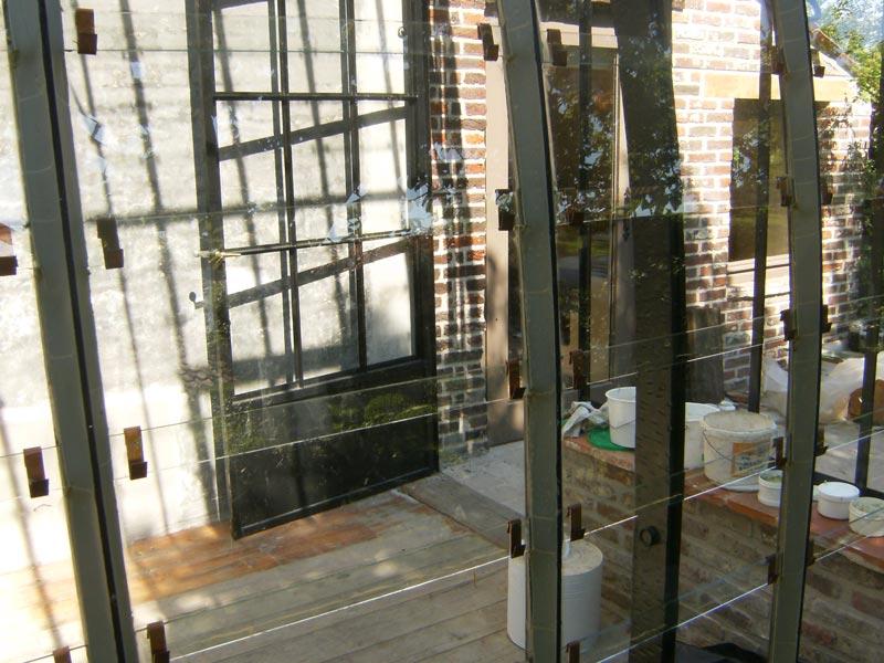 glazen serre aanbouw veranda maatwerk DBG Classics
