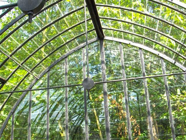 glazen tuinkas interieur DBG Classics