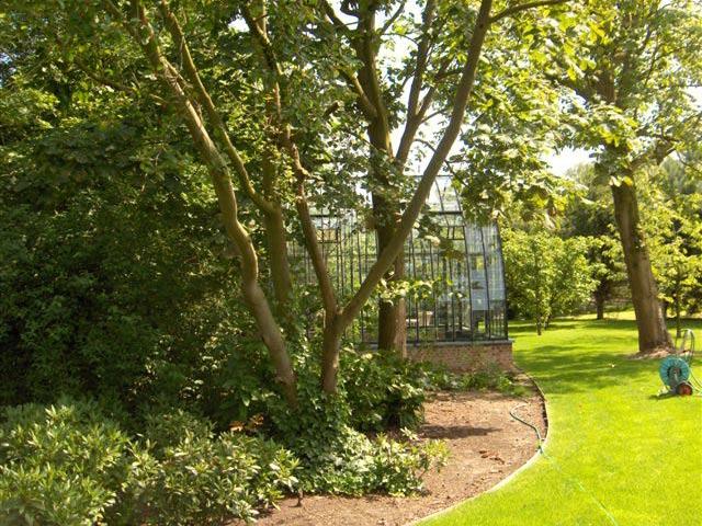 glazen tuinkas op maat DBG Classics