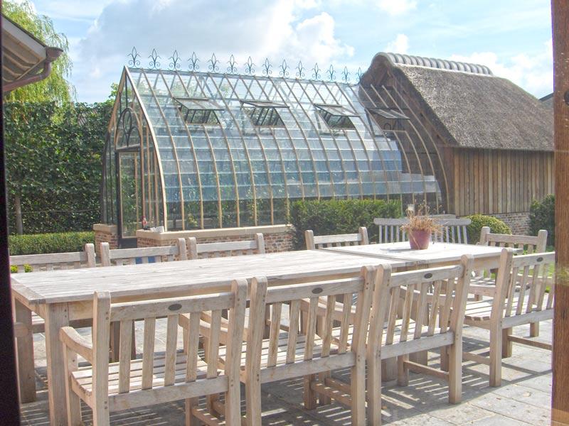 landelijke serre aangebouwd tuin DBG Classics