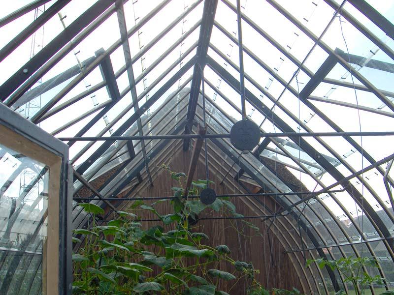 landelijke serre dak boogvormig DBG Classics