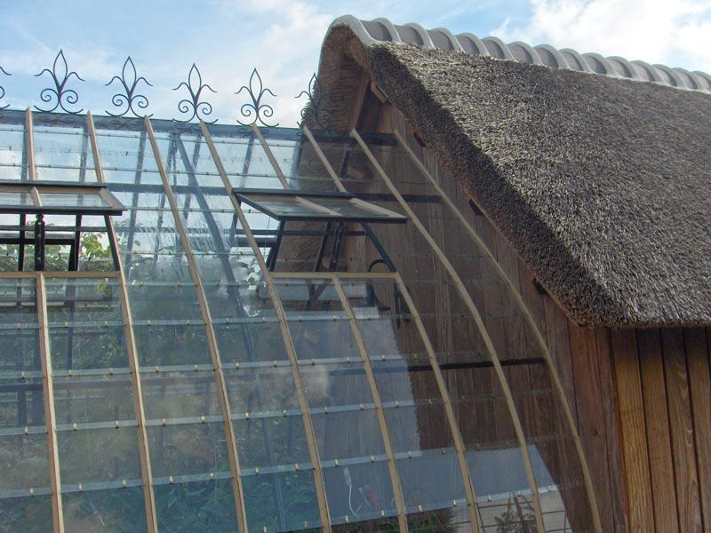 landelijke serre uitbouw aanhechting tuinhuis 2