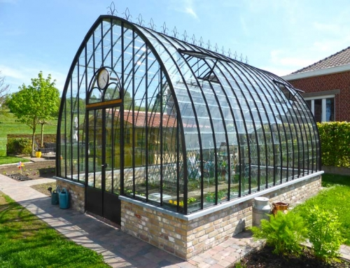Lean To Greenhouse Built Against A Garden Shed Dbg Classics