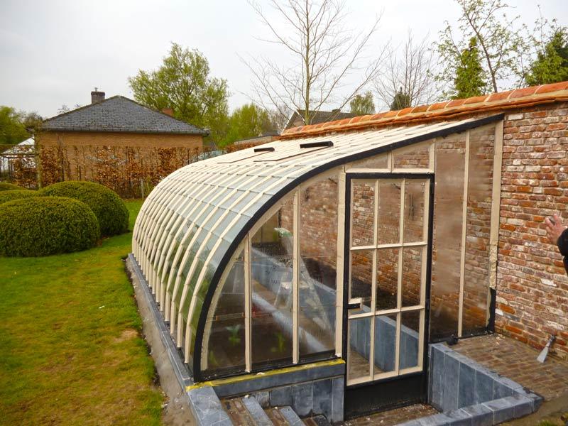 greenhouse design wrought iron recessed model DBG Classics 1