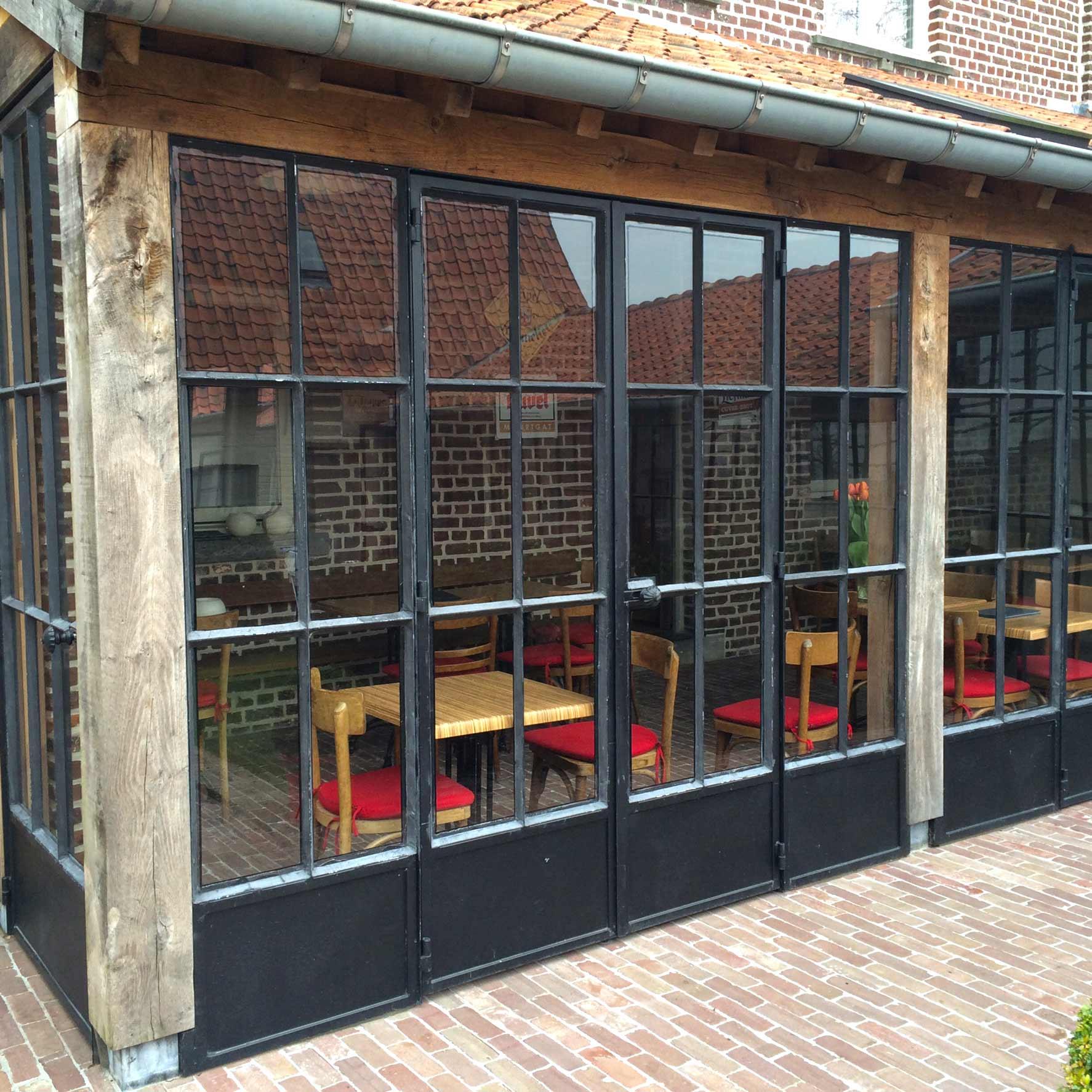 portes et fenêtres en fer forgé DBG Classics 1