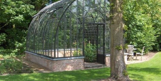 serre de jardin en verre fer forgé DBG Classics 1