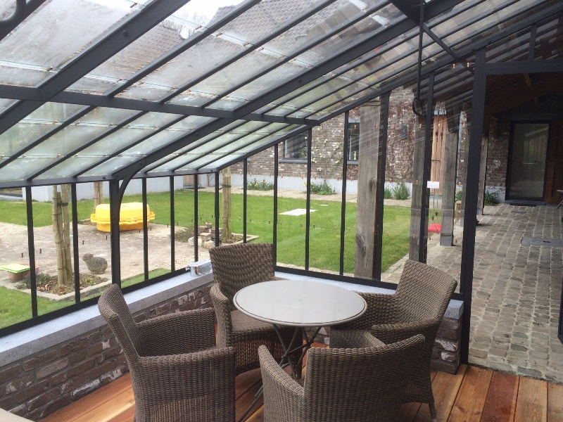 Conservatory to cover a jacuzzi 1 DBG Classics