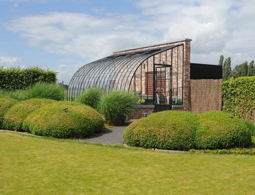 Serre orangerie avec diff rence de niveau dbg classics for Serre de jardin en fer forge