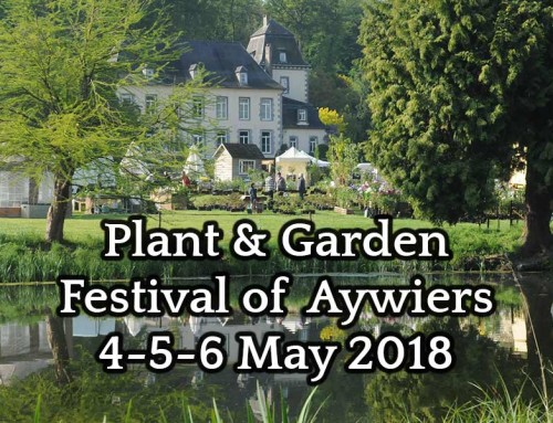 Conservatory showroom at the Plant & Garden Festival of Aywiers 4-5-6 May 2018