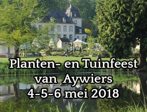 Serre showroom op het Planten- en Tuinfeest van Aywiers 4-5-6 mei 2018
