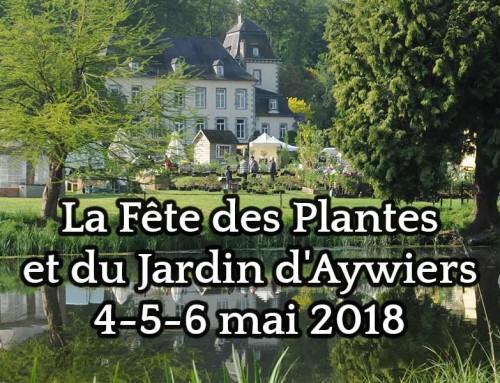 Showroom de serres à la Fête des Plantes et du Jardin d'Aywiers les 4-5-6 mai 2018