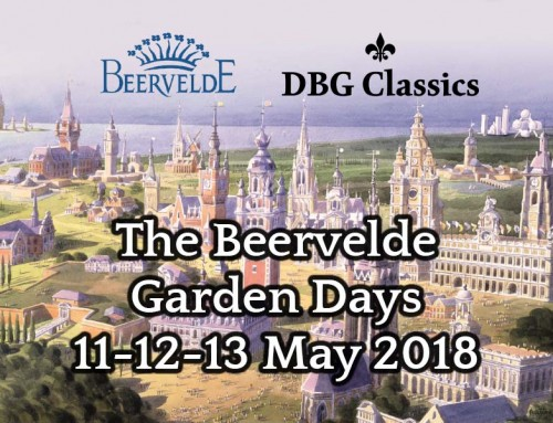 Nostalgic conservatories at the Beervelde Garden Days 11-12-13 May 2018
