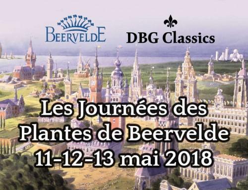 Serres traditionnelles aux Journées des Plantes de Beervelde les 11, 12, et 13 mai 2018