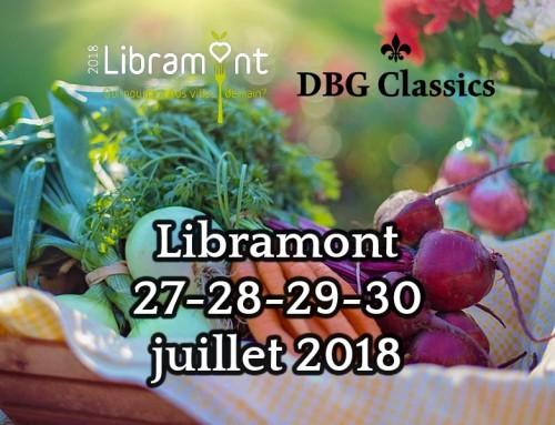 Foire aux jardins 2018 à Libramont 27-30 juillet – Des serres dans la ville !