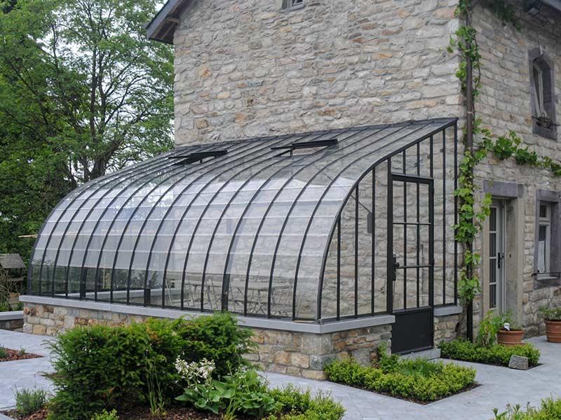rustic veranda built on dwarf brick wall dbg classics