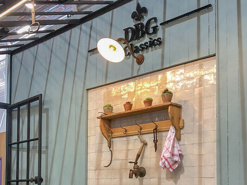 greenhouse ironwork dbg classics stand at maison&objet fair in paris