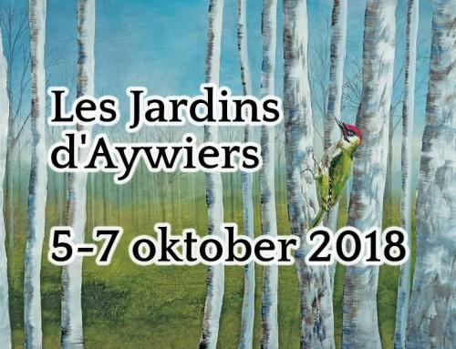 Les Jardins d'Aywiers van 5 tot en met 7 oktober 2018 – Herfsteditie