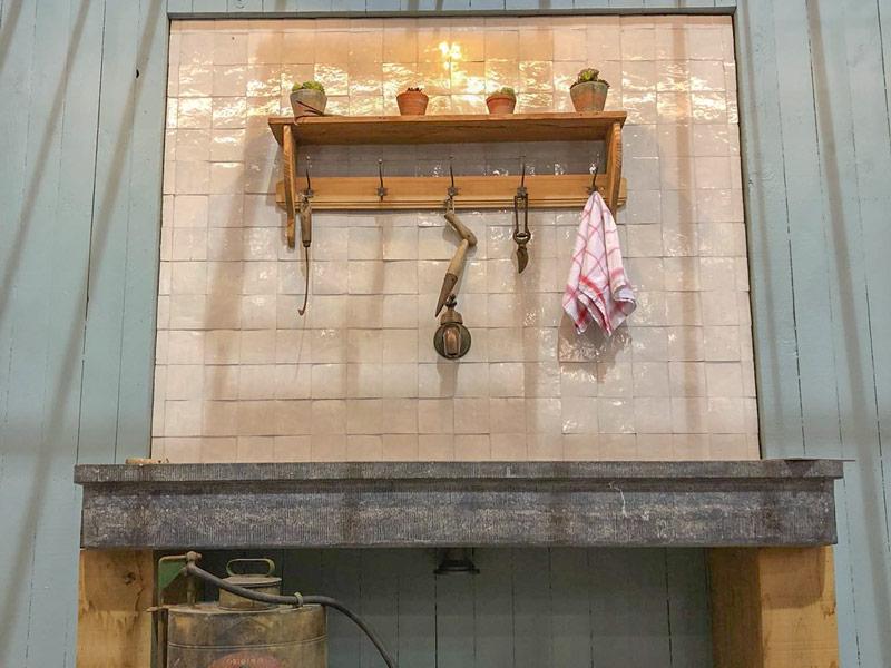 voorbeeld van interieur serre of aanbouwveranda uit smeedwerk dbg classics