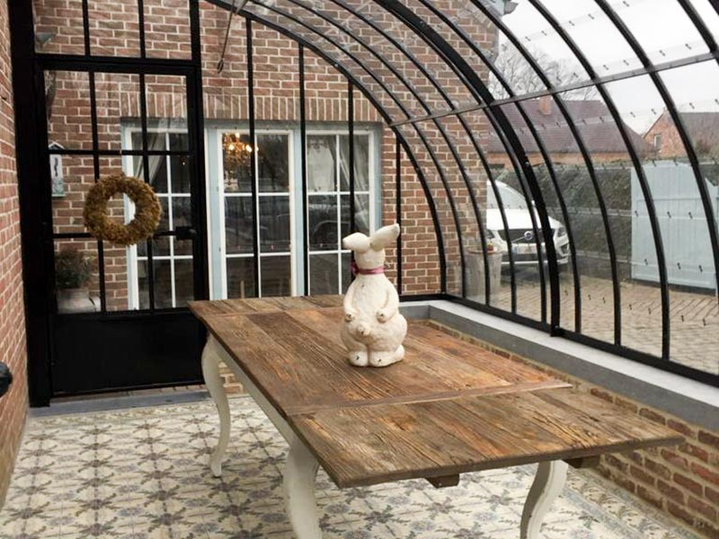 orangery kitchen extension added value for property house staging extra kitchen space winter garden DBG Classics