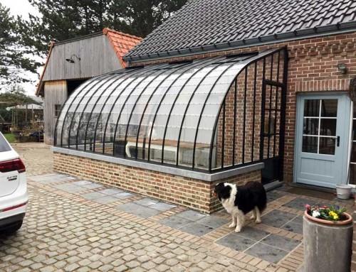 Veranda orangerie als aanbouwmodel met klassieke uitstraling