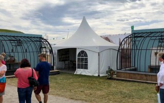 aanbouw smeedijzeren serre te koop libramont beurs landbouw 2019
