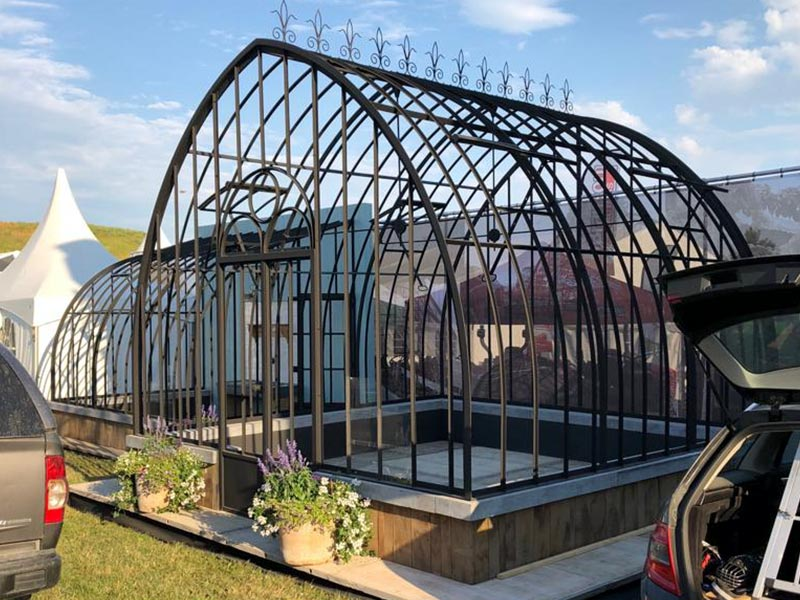 elegant wrought iron greenhouse for sale libramont agricultural fair dbg classics