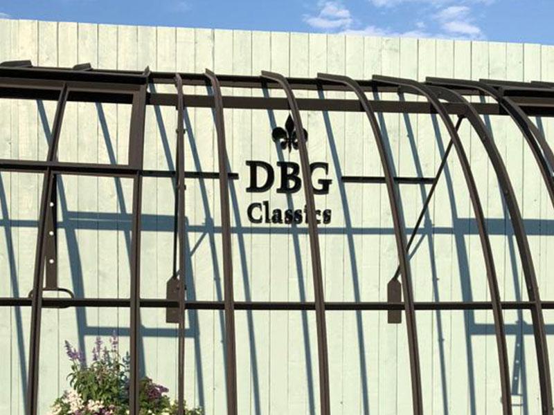 smeedijzeren serre te koop aanbouw met boogdak libramont beurs landbouw