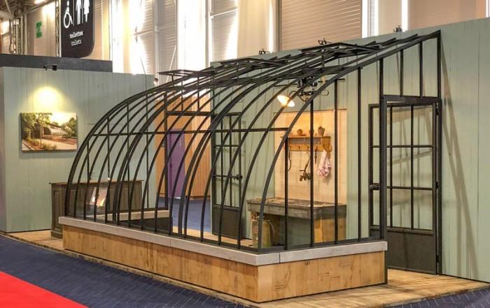 DIY kit lean to greenhouse dbg classics maison & objet fair in paris