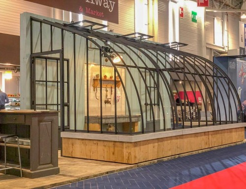 Glass greenhouse DIY kit – Visit our stand at MAISON&OBJET in Paris