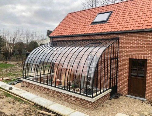 Rustic greenhouse with a simple yet elegant look and feel – Widely functional