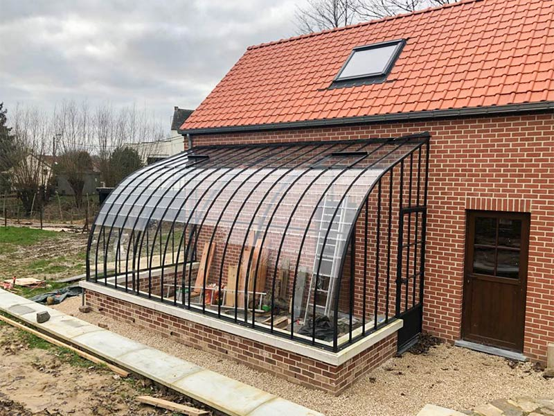rustic greenhouse lean to model vintage look with contemporary lines dbg classics