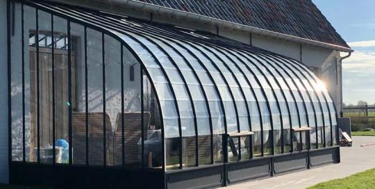 luxe serre als exclusieve aanbouw voor extra woonruimte en zonlicht dbg classics